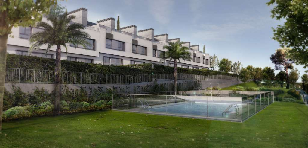 Asentis presenta chalets adosados de 4 dormitorios desde 195.000€