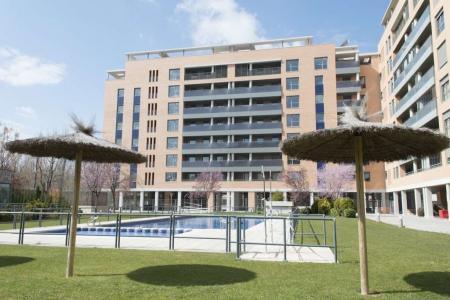 Parque de Los Tilos, en Zaragoza, de Quabit Inmobiliaria (Stand 7D220) es una de las promociones eficientes que acuden este año a SIMA.